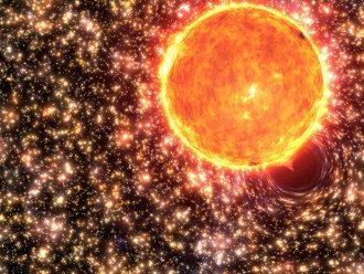 магнитная буря_магнитные бури_Солнце_космос_планета_метеоудар