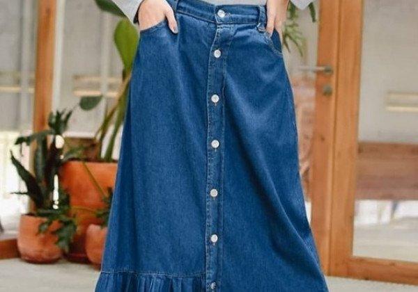 Джинсовые юбки 2020