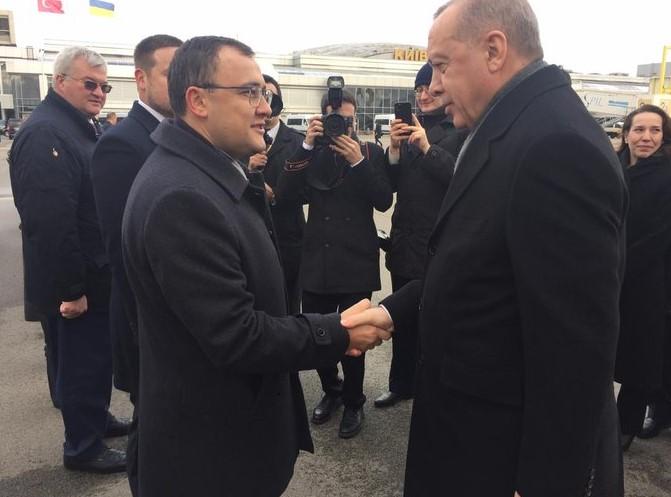 Эрдоган, Киев