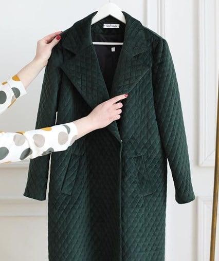 Стьобані пальто в тренді / Instagram