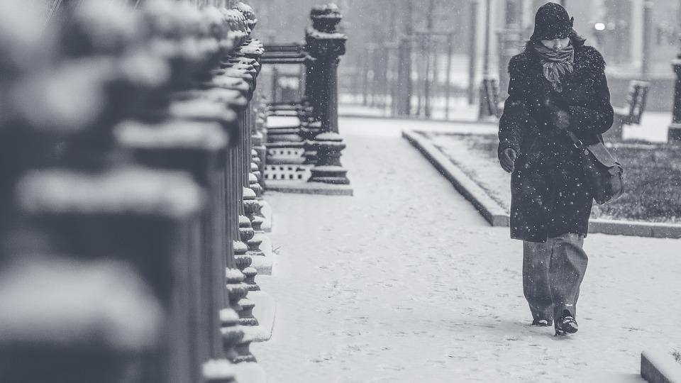 погода, снег, метель