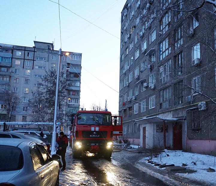 В Днепре в результате пожара в общежитии пострадали шесть человек
