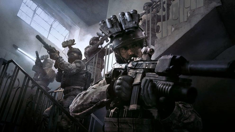 Кадр из сюжетной кампании Call of Duty: Modern Warfare