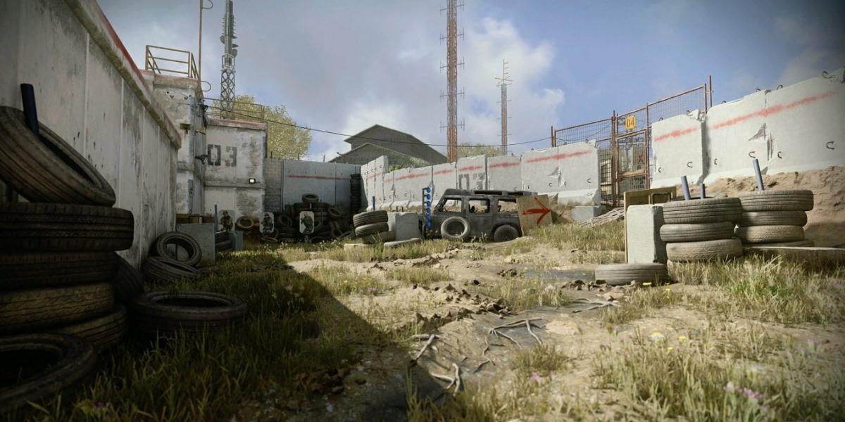 Слитый скриншот тренировочной зоны режима Warzone в Modern Warfare