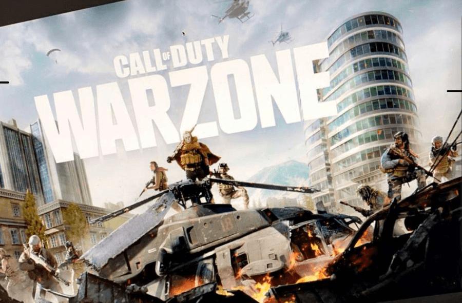Слитый ключевой арт Call of Duty: Warzone