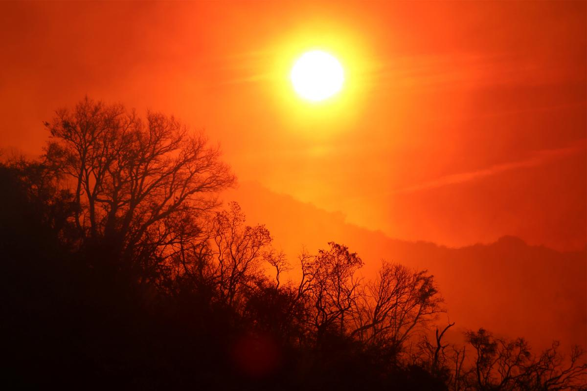 небо,солнце
