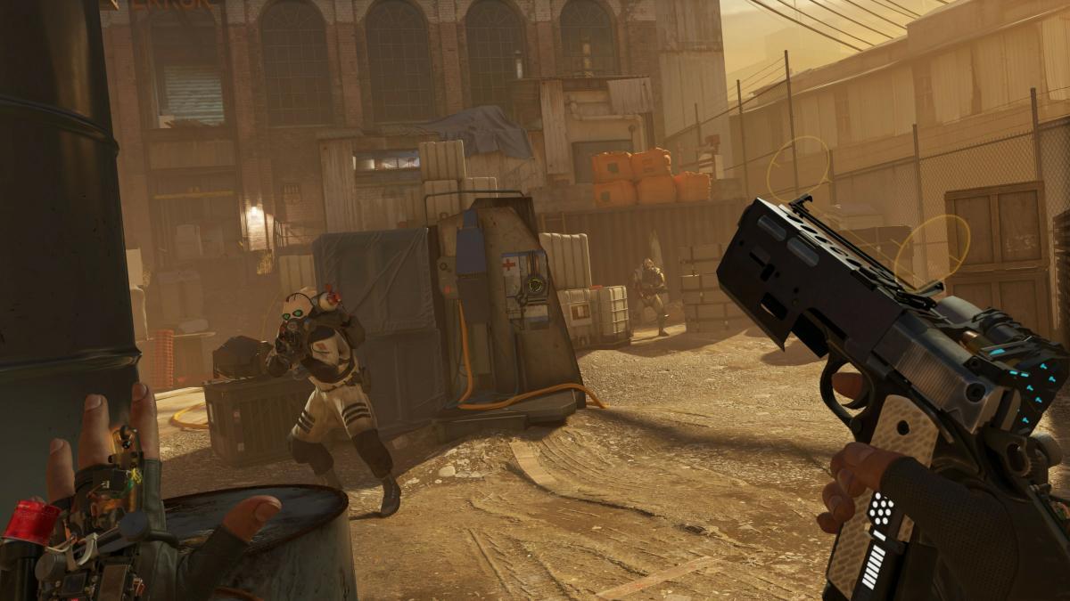 Новый скриншот Half-Life: Alyx