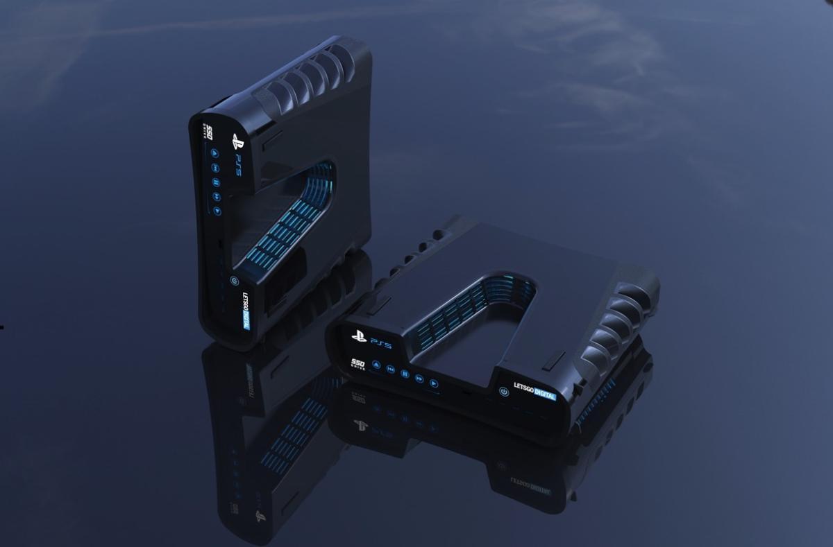 Фанатский концепт дизайна PlayStation 5