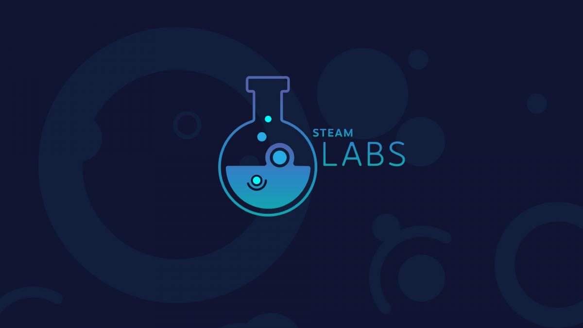 Официальный логотип Steam Labs