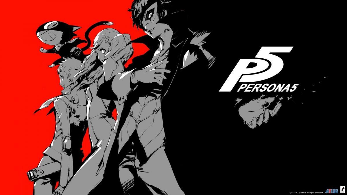 Официальный арт Persona 5