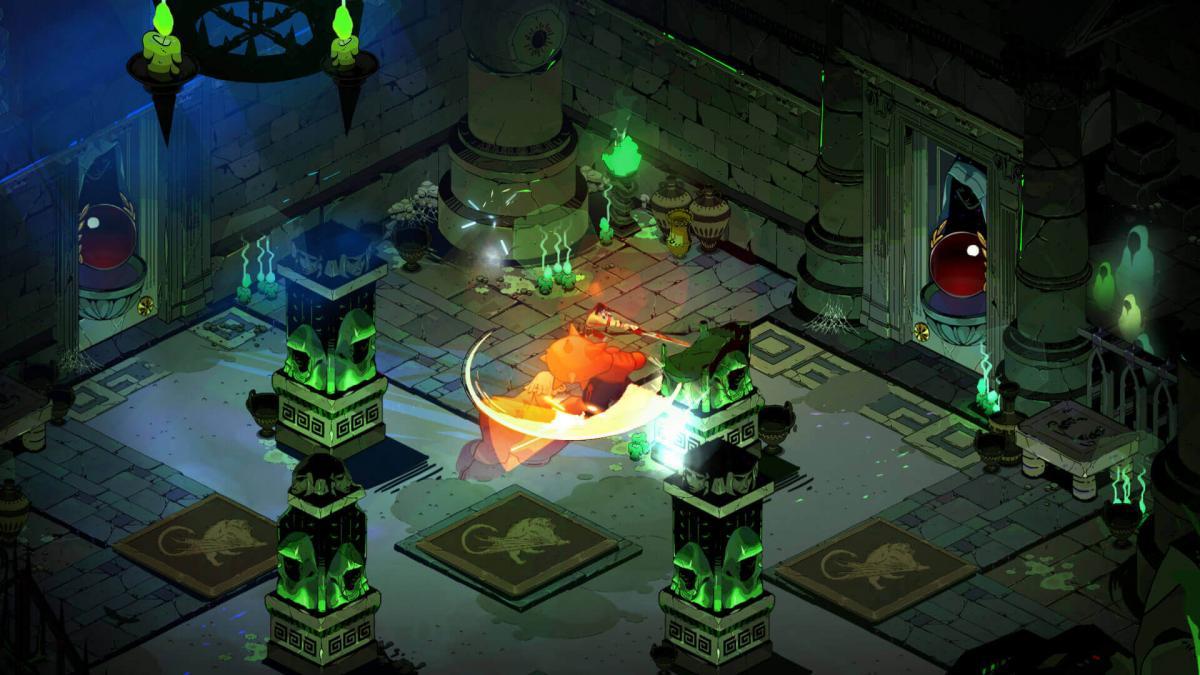 Скриншот из игры Hades