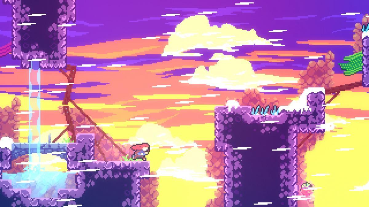 Скріншот з гри Celeste / Quantic Dream