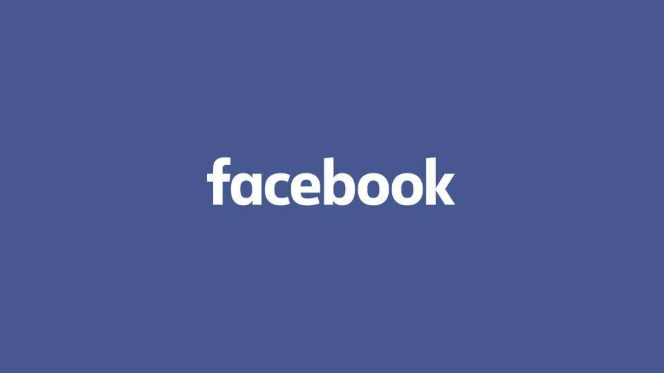 Официальній логотип социальной сети Facebook
