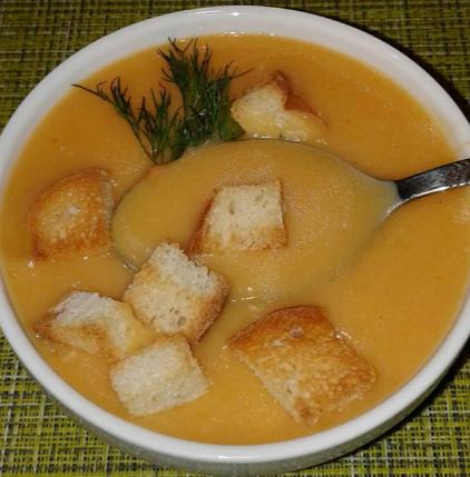 В плотный гороховый суп пюре можно добавить сливочное масло – Суп гороховый