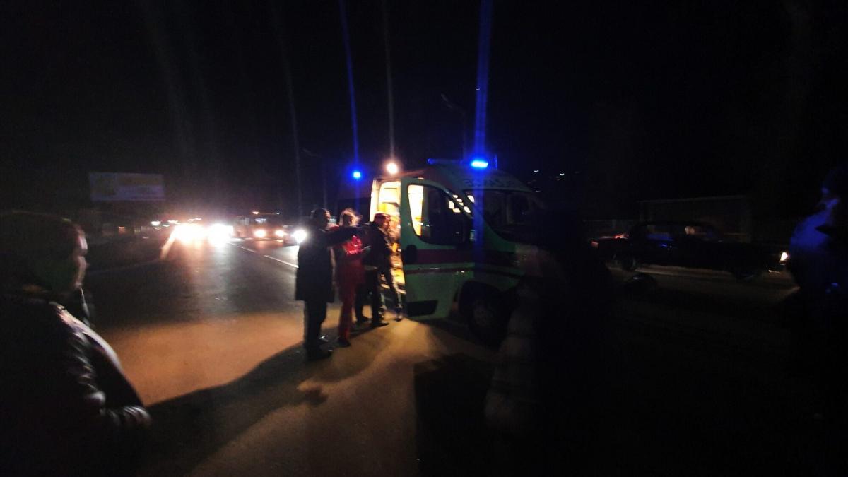 В Броварах пьяный коп сбил людей на переходе/ kv.npu.gov.ua