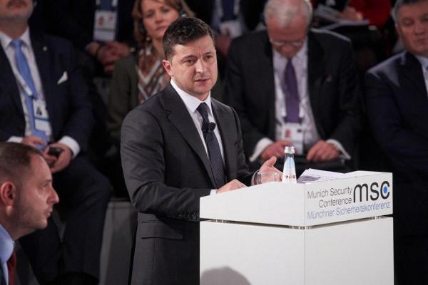 Владимир Зеленский Мюнхен 2020