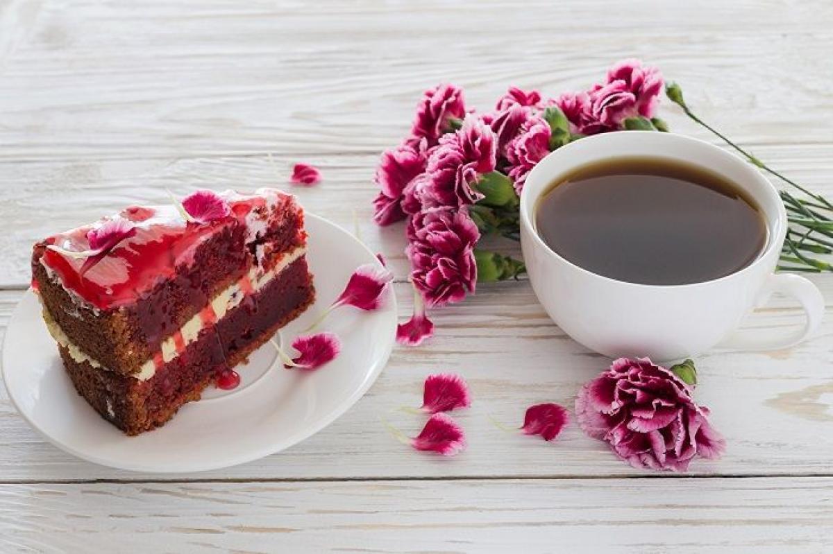 квіти_гвікі_еда_солодкое_торт