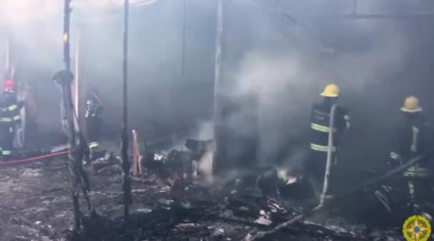 Image result for При пожаре в ТЦ в Баку пострадали восемь человек