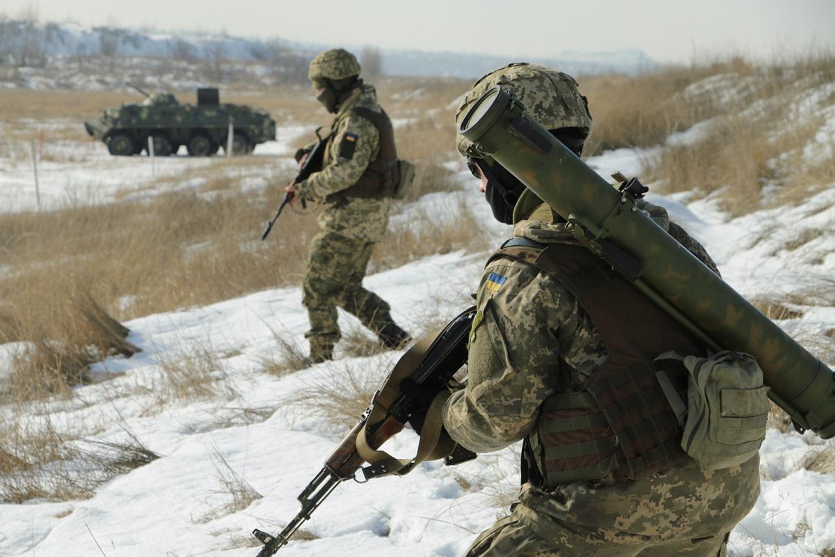 Донбасс, военные