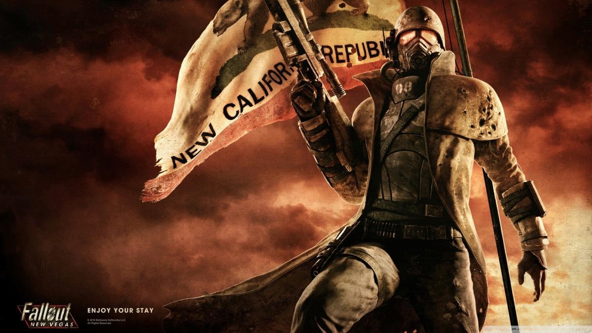 Официальный арт Fallout: New Vegas