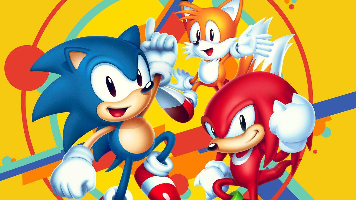Главніе герои игры Sonic Mania