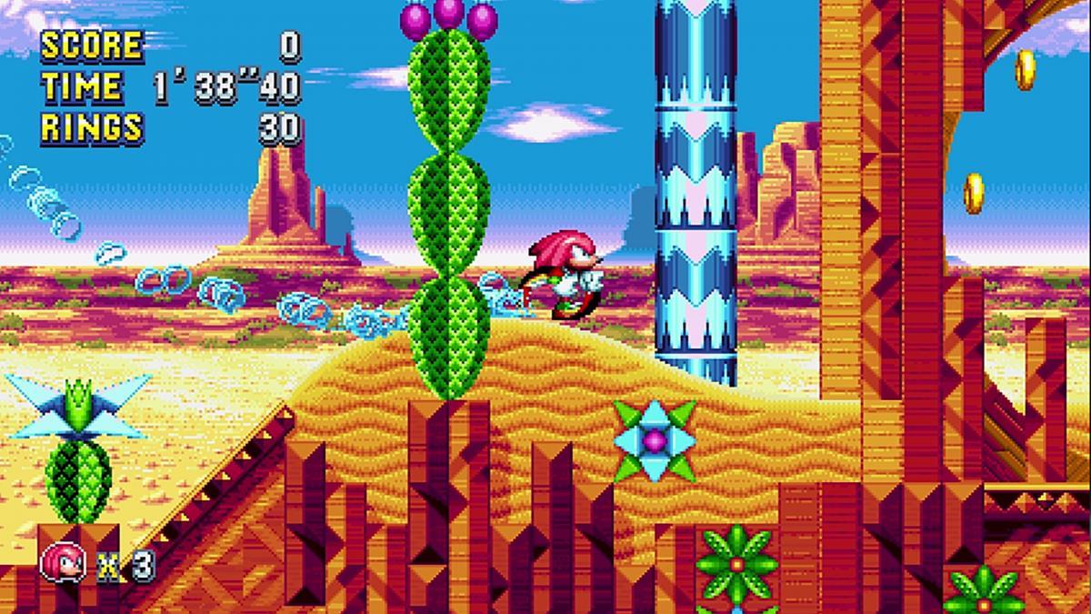 Скриншот из игры Sonic Mania