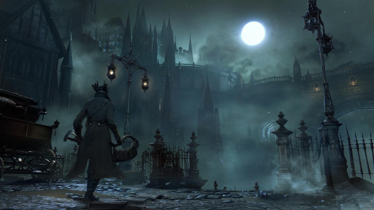 Скриншот из игры Bloodborne