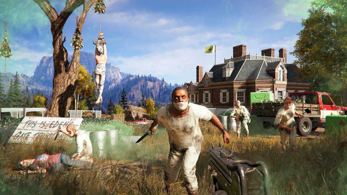 Скріншот з гри Far Cry 5 / Ubisoft