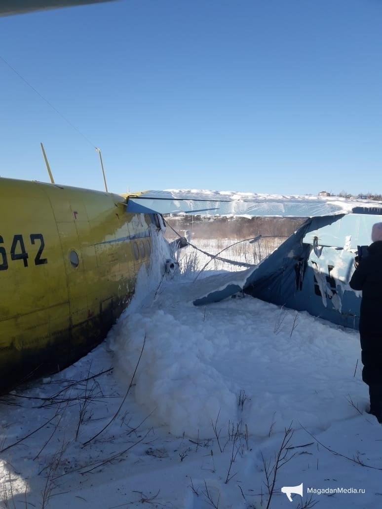 В России упал самолет с пассажирами