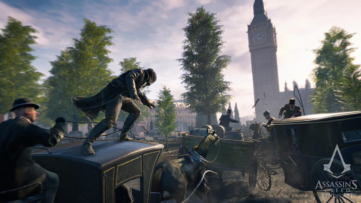 Кадр из Assassin's Creed Syndicate