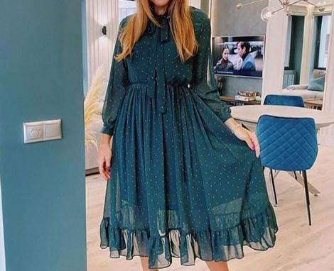 Сукня з рюшами 2020 / Instagram