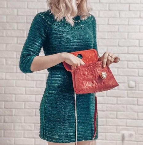 Сукні, в'язані гачком / Instagram