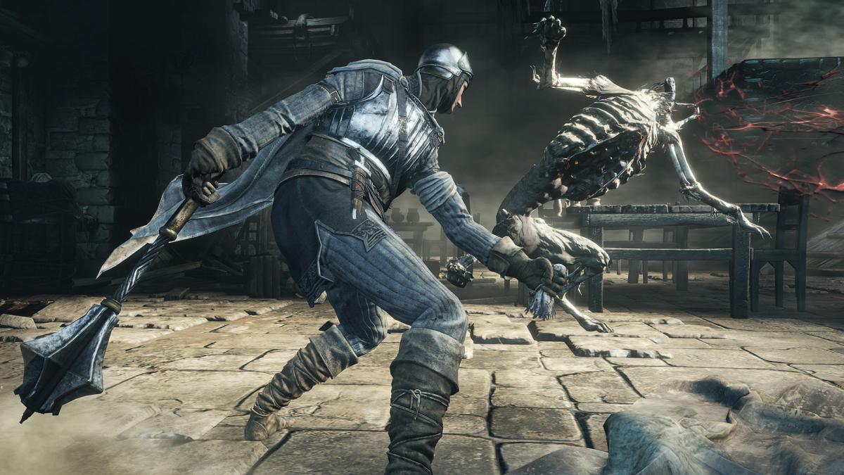 Кадр из игры Dark Souls III