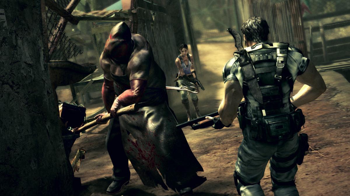 Кадр из игры Resident Evil 6