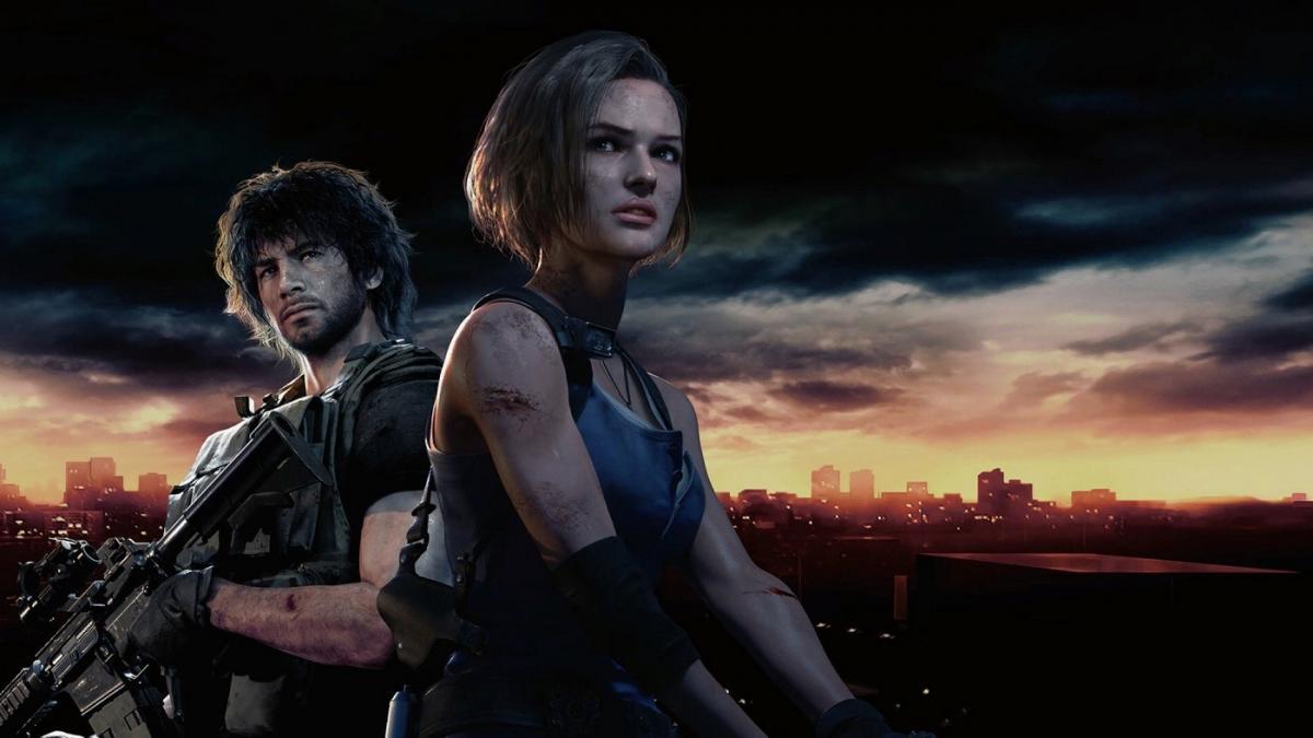 Арт гри Resident Evil 3 Remake