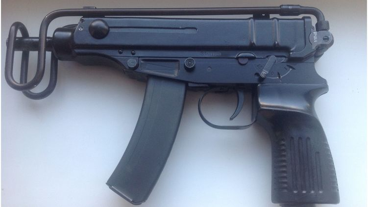 Пістолет-кулемет Скорпіон