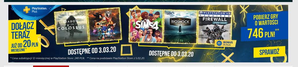 Польский баннер игр PS Plus