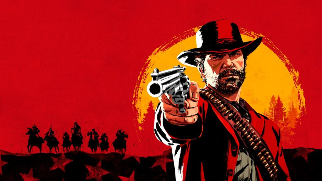 Арт гри Red Dead Redemption 2