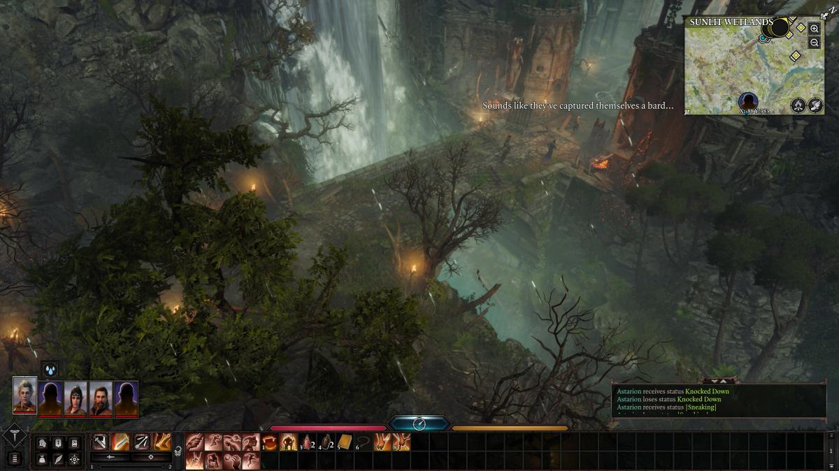 Злитий кадр baldur's Gate III