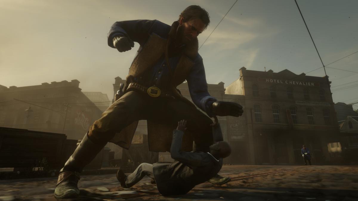 Маленькі NPC в Red Dead Redemption 2