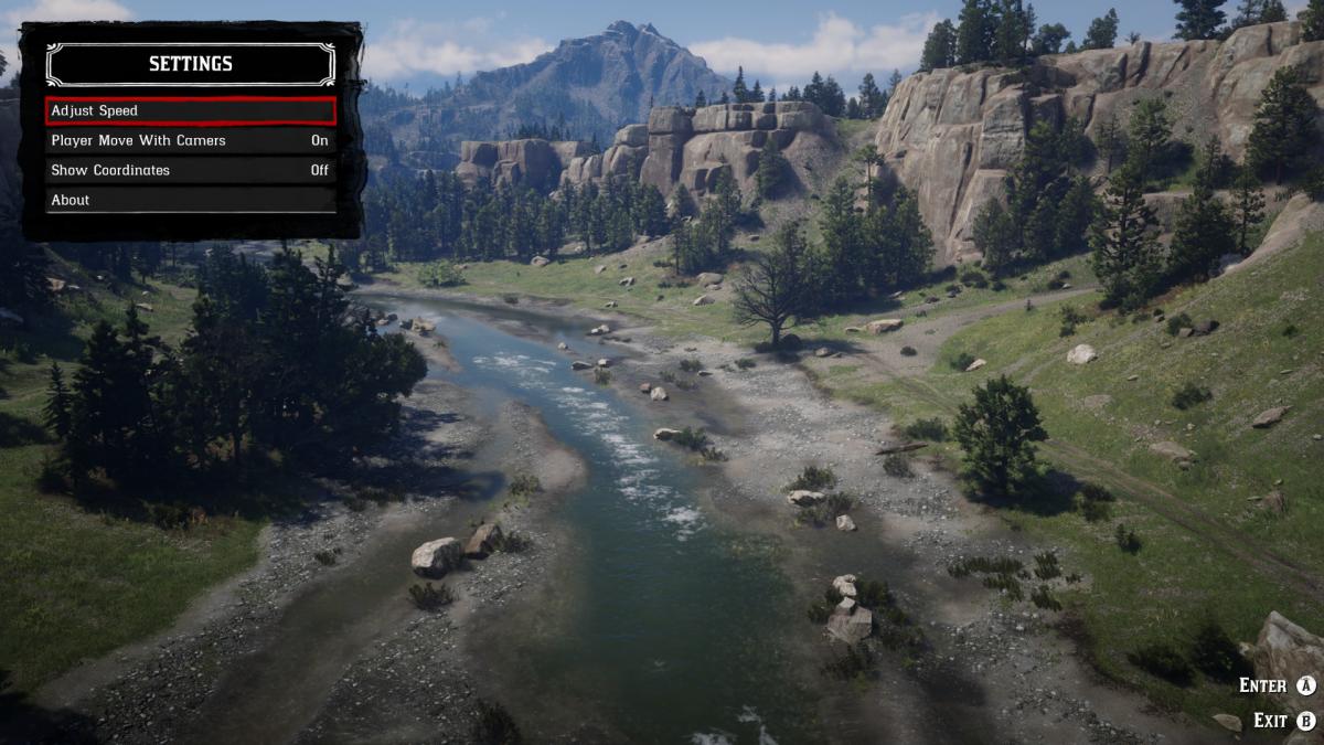 Пейзаж в Red Dead Redemption 2