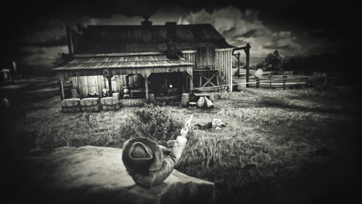 Смерть игрока в Red Dead Redemption 2