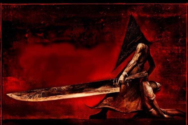 Монстр Пирамидоголовый, один из главных символов серии