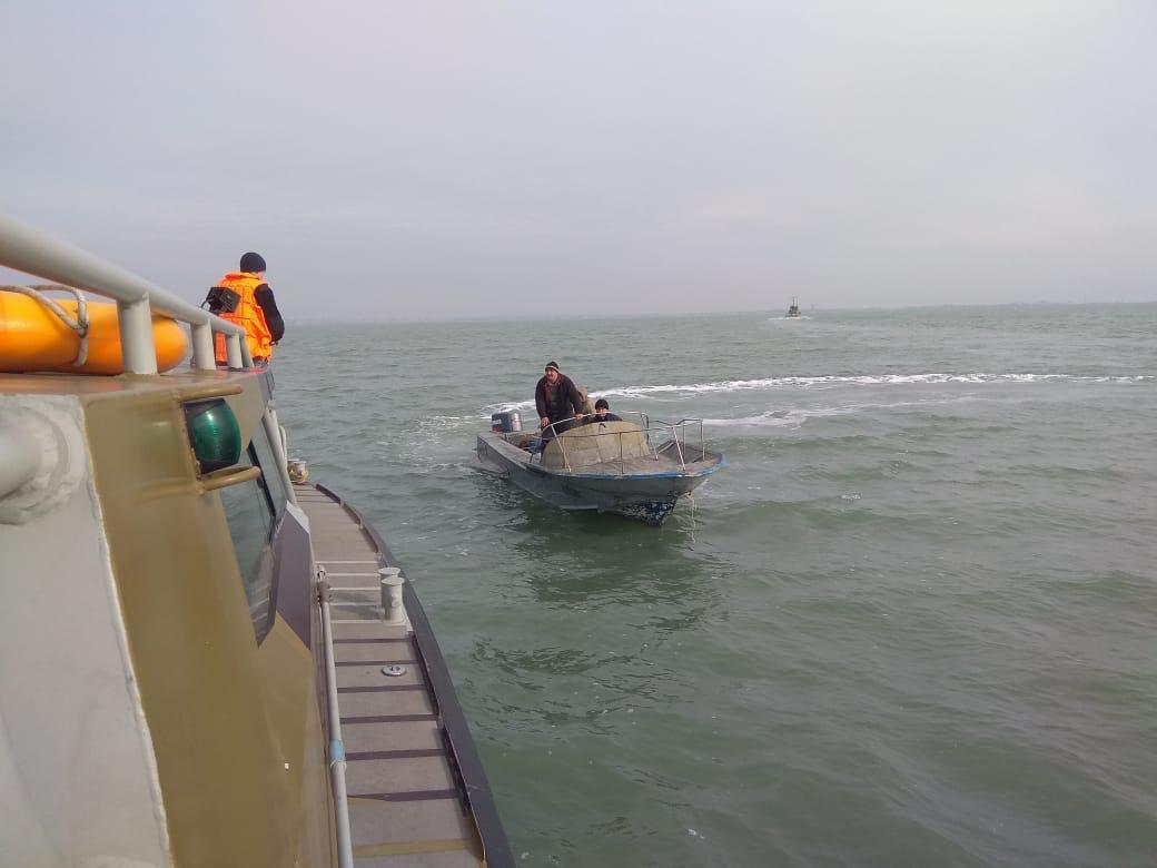 Возвращение украинских рыбаков