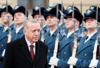 Президент Турции в Киеве выкрикнул Слава Украине! - Эрдоган Киев