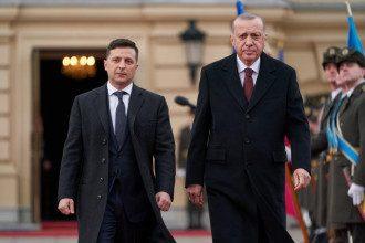 Эрдоган ждет визита Зеленского в Турцию