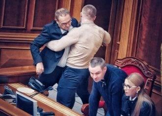 В парламенте произошли столкновения / Фото Я.Доброносова/Facebook.com/yan.dobronosov