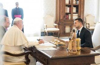 Владимир Зеленский встретился с Папой Римским Франциском / @ZelenskyyUa