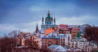 Київ, зима