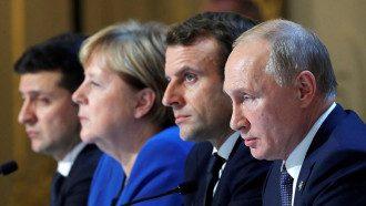 Новости Донбасса - Нормандский формат обсудили Путин и Макрон - что решили